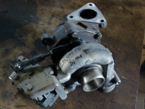 Turbolader Mercedes DB S-Klasse W220 S400 CDI Bj.01 160tkm links A6280960499